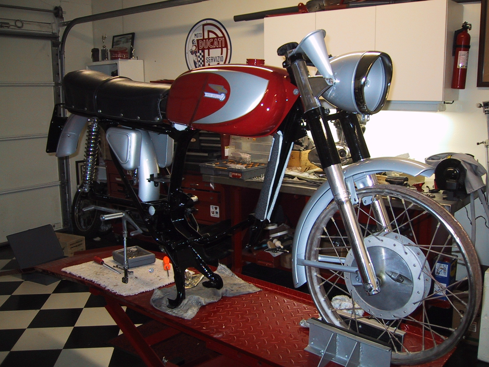 1966 Ducati 250cc Mark 3
