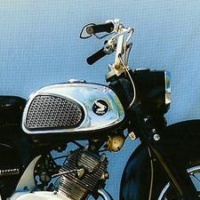 1962 Honda Dream 160cc