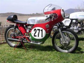 1965, Ducati 250cc Mach 1 Racebike