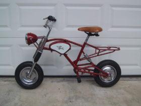 1947 Cucciolo Bicycle